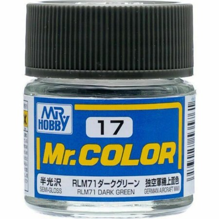 Gunze - Mr.Color 017 - RLM71 Dark Green (Semi-Gloss)