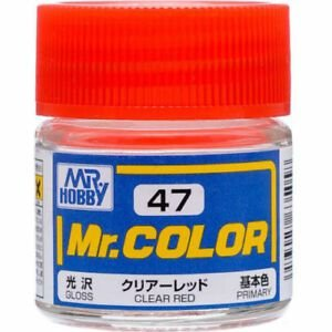 Gunze - Mr.Color 047 - Clear Red (Gloss)