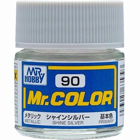 Gunze - Mr.Color 090 - Shine Silver (Metallic)