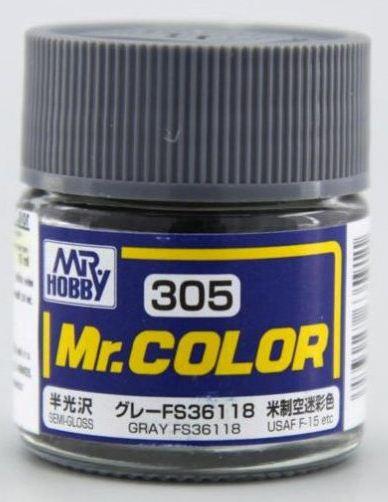 Gunze - Mr.Color 305 - Gray FS36118 (Semi-Gloss)
