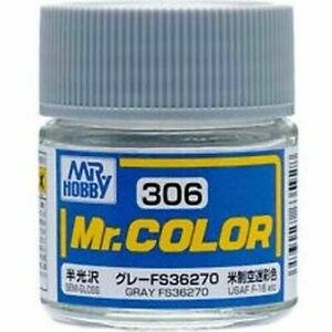 Gunze - Mr.Color 306 - Gray FS36270 (Semi-Gloss)