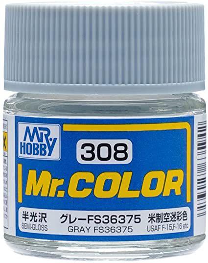 Gunze - Mr.Color 308 - Gray FS36375 (Semi-Gloss)