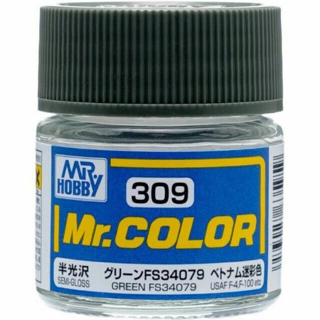 Gunze - Mr.Color 309 - Green FS34079 (Semi-Gloss)