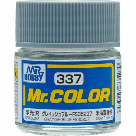 Gunze - Mr.Color 337 - Grayish Blue FS35237 (Semi-Gloss)