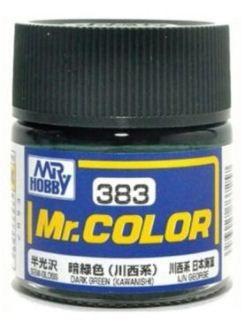Gunze - Mr.Color 383 - DARK GREEN(KAWANISHI) (Semi-Gloss)