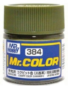 Gunze - Mr.Color 384 - COCKPIT COLOR (KAWANISHI) (Semi-Gloss)
