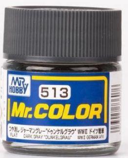 "Gunze - Mr.Color 513 - DARK GRAY ""DUNKEL GRAU"" (Flat)"