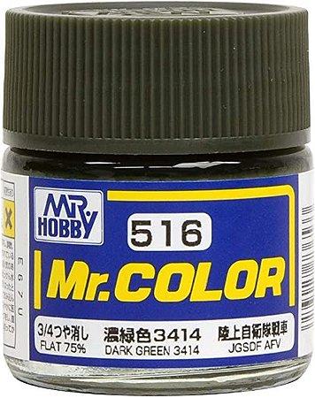 Gunze - Mr.Color 516 - DARK GREEN 3414 (Flat)