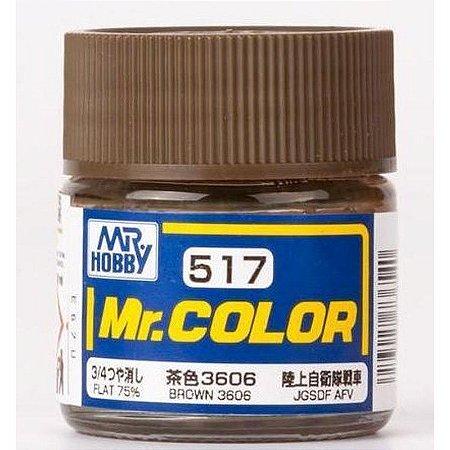 Gunze - Mr.Color 517 - BROWN 3606 (Flat)