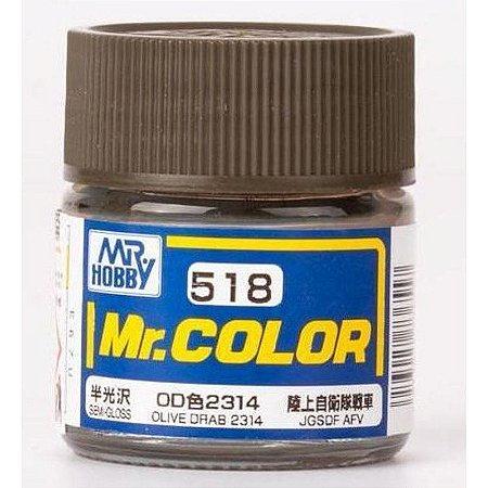 Gunze - Mr.Color 518 - OLIVE DRAB 2314 (Semi-Gloss)