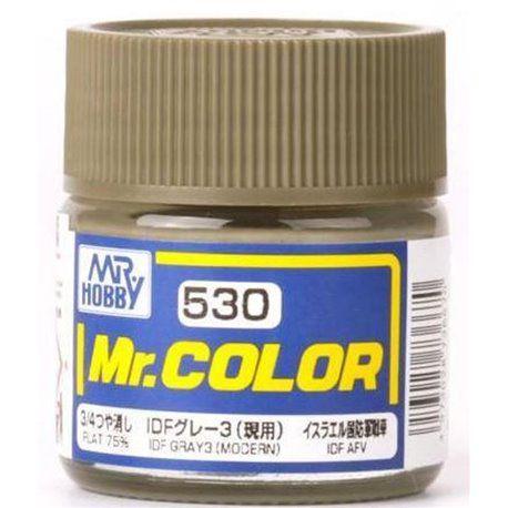 Gunze - Mr.Color 530 - IDF GRAY3(MODERN) (Flat)