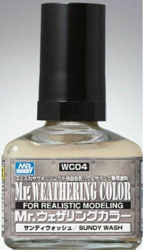 Gunze - Mr.Weathering Color 04 - Sandy Wash 40ml