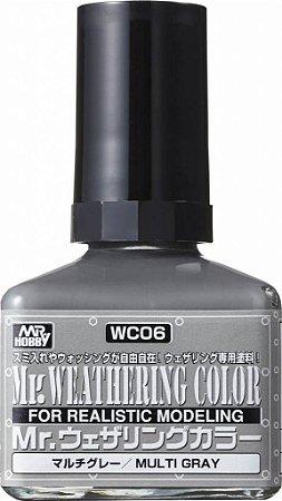 Gunze - Mr.Weathering Color 06 - Multi Gray 40ml