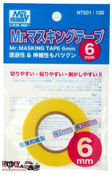 Gunze - Mr.Masking Tape 6mm - Fita para Mascarar