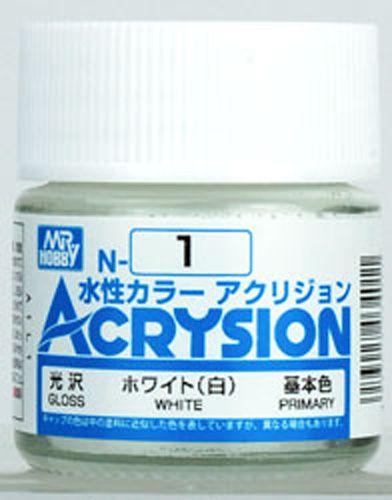 Gunze - Acrysion Color 001 - White (Gloss)