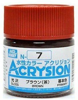 Gunze - Acrysion Color 007 - Brown (Gloss)