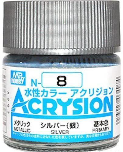 Gunze - Acrysion Color 008 - Silver (Metallic)