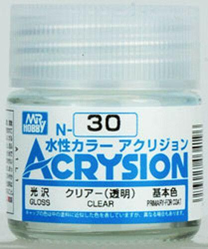 Gunze - Acrysion Color 030- Clear (Verniz Brilhante)