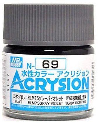 Gunze - Acrysion Color 069 - RLM75 Gray Violet (Semi-Gloss)
