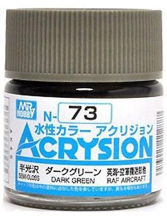 Gunze - Acrysion Color 073 - Dark Green (Semi-Gloss)