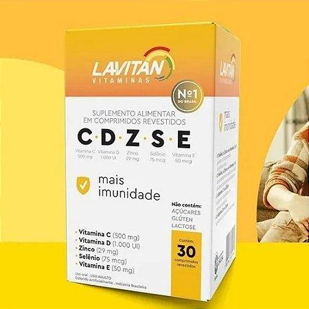 Lavitan Imunidade C D Z S E com 30 comprimidos