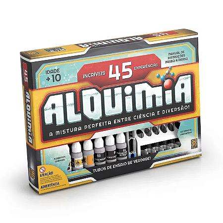 Jogo Alquimia de 45 Experiências - Grow