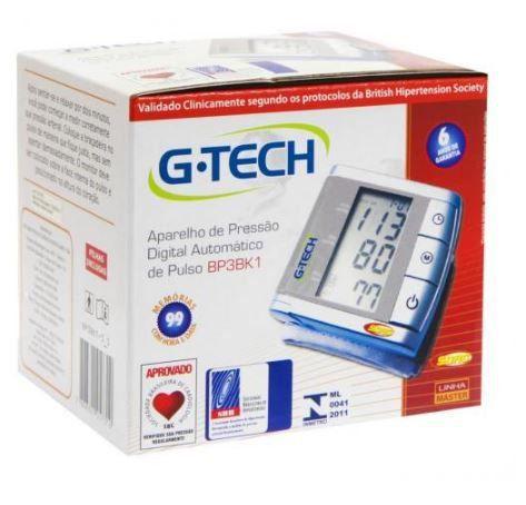 Aparelho De Pressão Digital Pulso Bp3K1 G-Tech