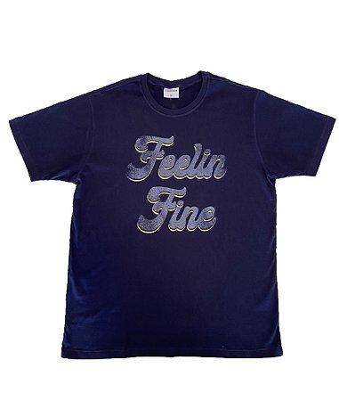 Camiseta Estampada Marinho
