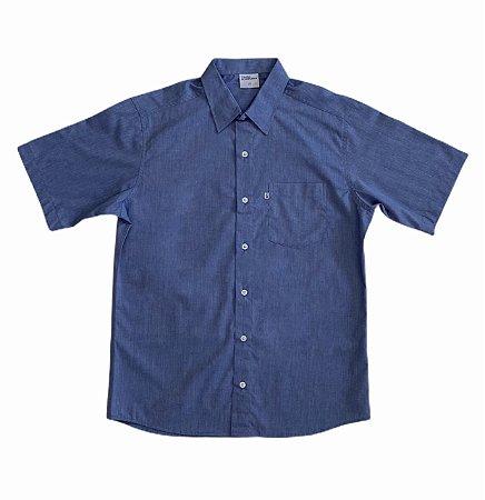 Camisa Lisa Azul Jeans
