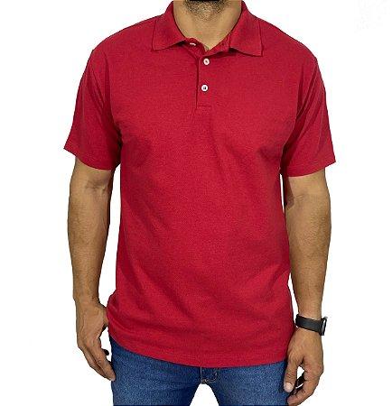 Camiseta Polo Basic Vermelha