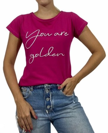 Tshirt Feminina Pink
