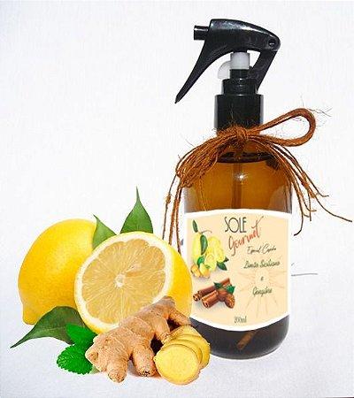 Home Spray   Limão Siciliano e Gengibre   200 ml