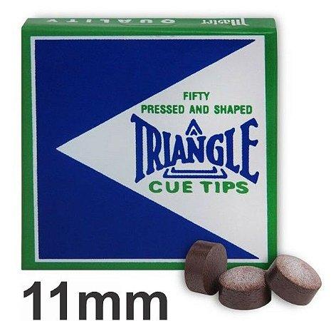 Sola Triangle Couro Profissional 11 mm para Taco de Sinuca Bilhar Importado USA