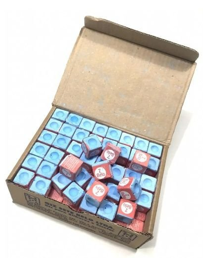 Giz Azul para Sinuca 7 belo Bilhar Snooker caixa 144 unidades