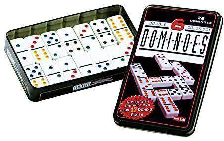 Domino Lata Double 6 Color