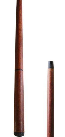 Taco para Sinuca Bilhar Ipê 1,35 cm Ponteira de Borracha