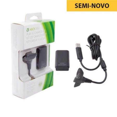 Bateria Microsoft para Controle - Xbox 360 (Seminovo)