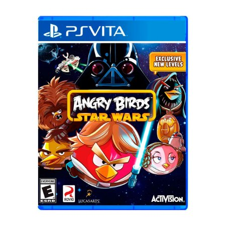 Jogo Angry Birds Star Wars - PS Vita (Seminovo)