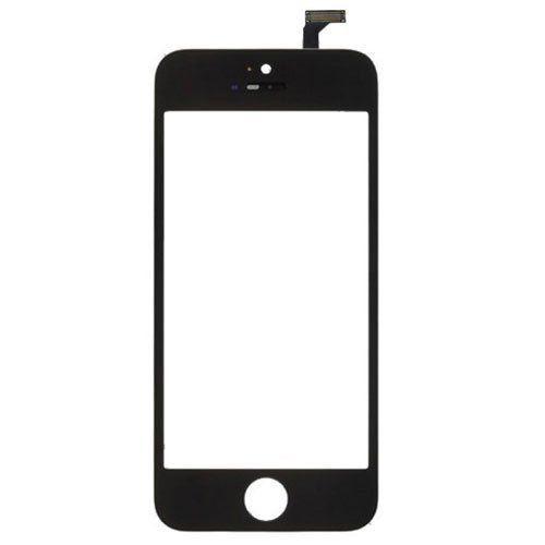 Pç Apple Vidro iPhone 5 / 5S Preto