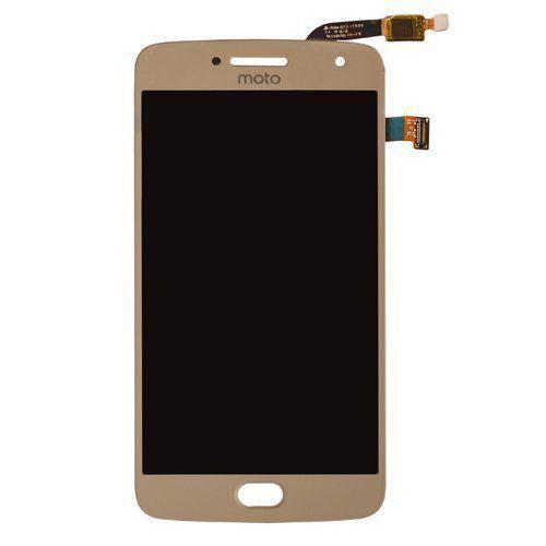 Pç Motorola Combo Moto G5 Plus Dourado S/aro