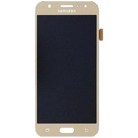 Pç Samsung Vidro J7 Dourado