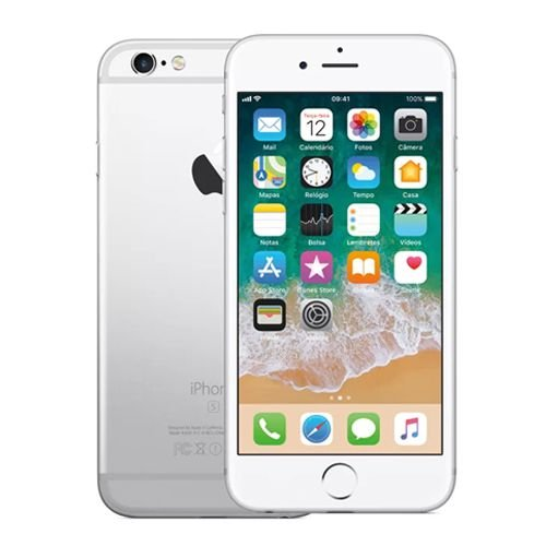 Smartphone Apple iPhone 6S 32GB 2GB Prata (Seminovo)