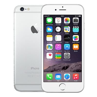 Smartphone Apple iPhone 6 64GB 1GB Prata (Seminovo)