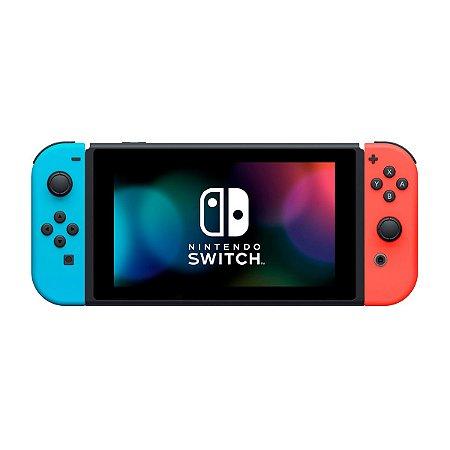 Console Nintendo Switch 32GB HAD V2 Neon Azul