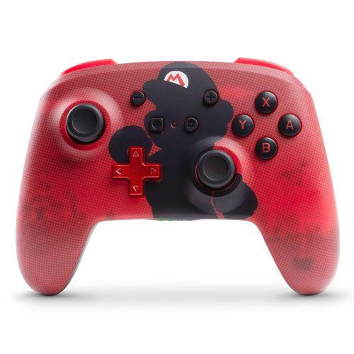 Controle Enhanced Wireless Controller Mario - Switch