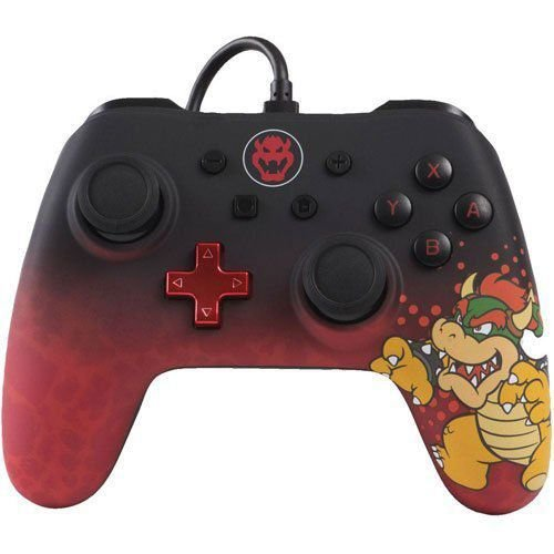 Controle Wired Bowser - Switch