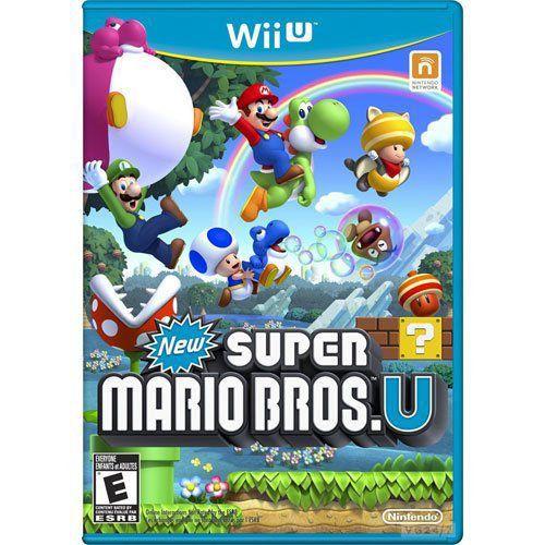 Jogo New Super Mario Bros - Wii U (Seminovo)