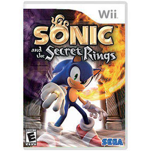 Jogo Sonic and The Secret Rings - Wii (Seminovo)