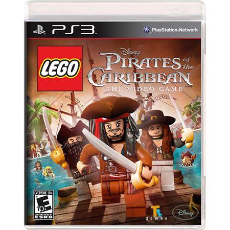 Jogo LEGO Piratas do Caribe - PS3 (Seminovo)