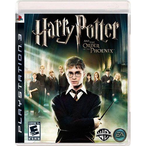 Jogo Harry Potter Ordem da Fenix - PS3 (Seminovo)